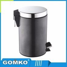 Indoor hotel cleaning accessory 12L garbage can waste storage bin