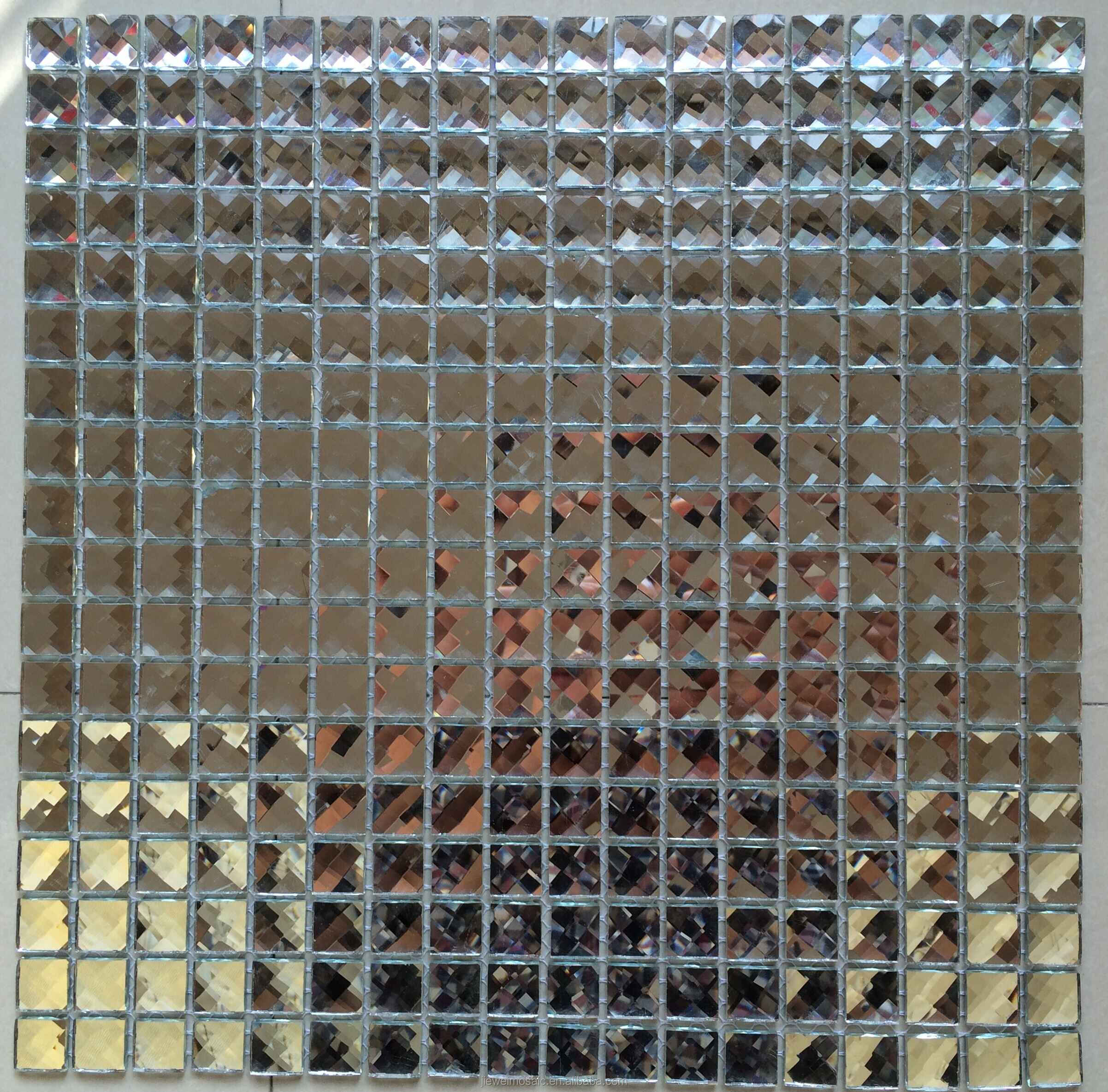 Hot sell beveled mirror tiles