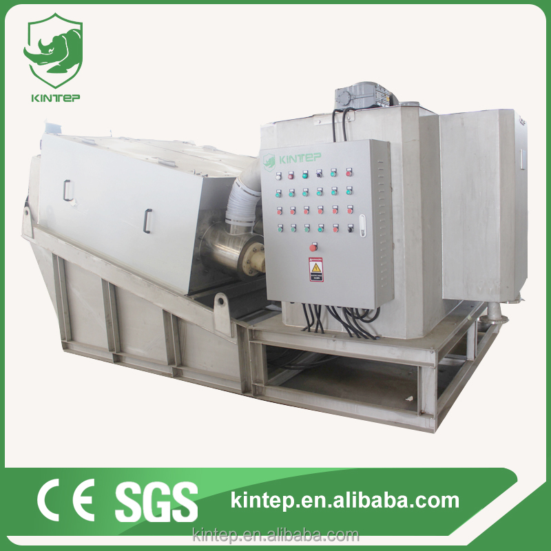 clog-free filter machine for cooking oil store sludge dewatering