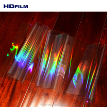 Transparent Holographic Laminating Film in BOPP PET PVC Material For Lamination and Printing