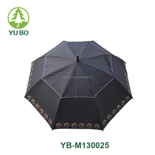 30 inch big size auto open air-vent design golf umbrella for sale