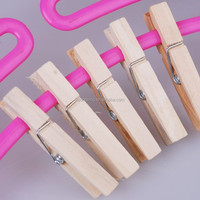 trade assurance supplier wooden clothes peg with spring