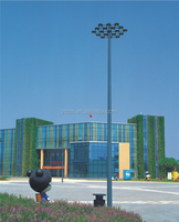 Factory price plaza airport football field flood light Q235 steel pole outdoor led flood light