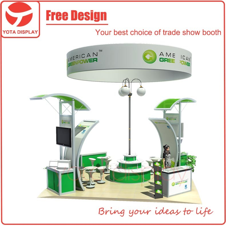 Yota Exhibition Stand Contractor and Builder for Trade Show or Expo