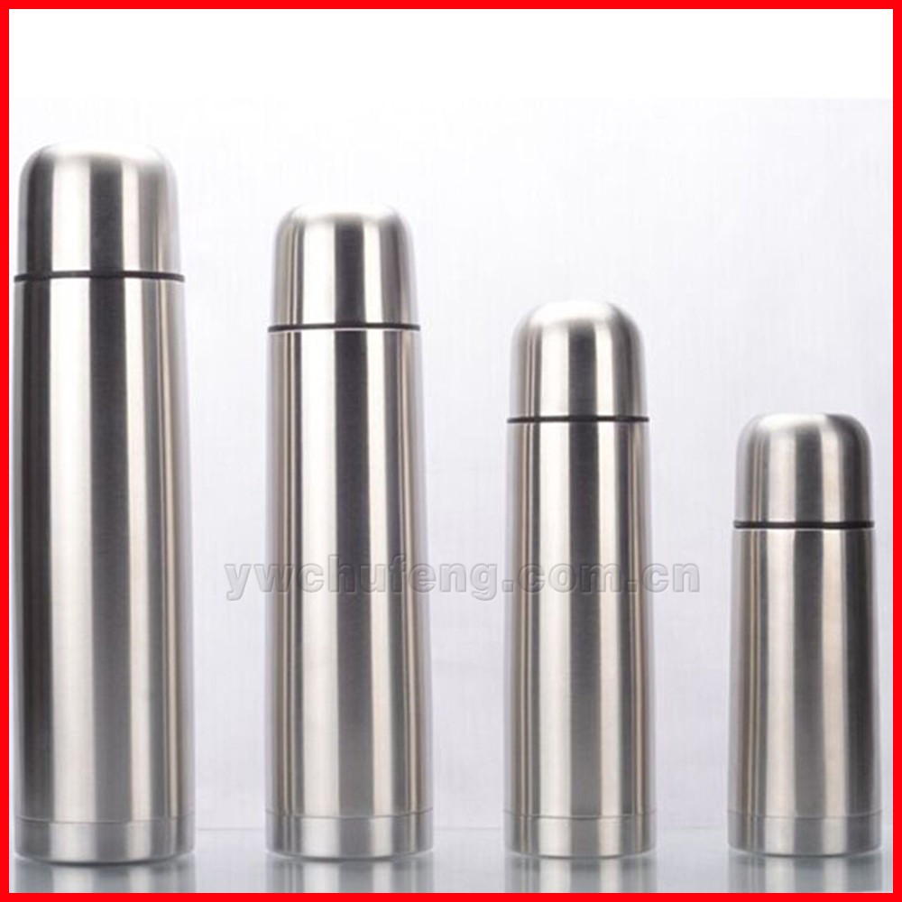 2017 New CHUFENG Vacuum Bullet Stainless Steel Flask Thermo Bottles OEM Welcome 350/500/750/1000ml