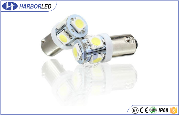 BA9S 5 5050SMD CANBUS Error Free T10 Wedge Light Bulbs LED Chips 168 194 W5W 2821 License Plate Interior Trunk Parking Lights