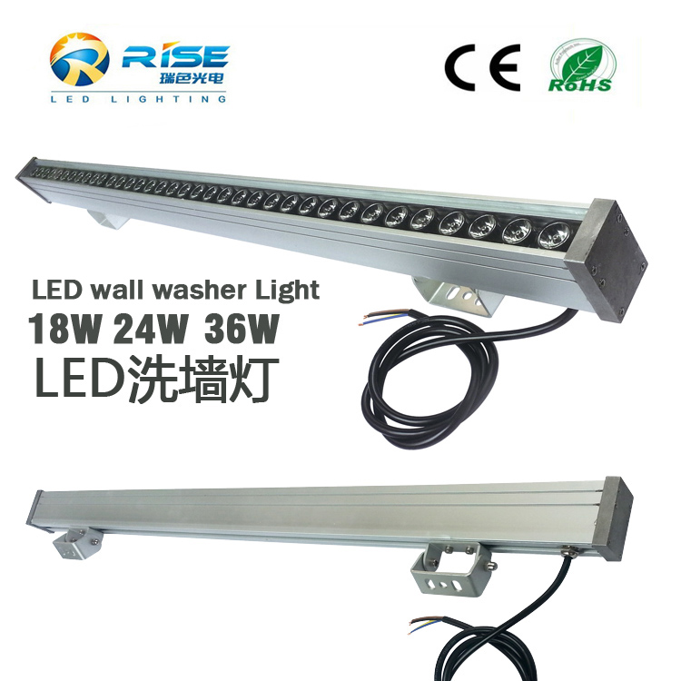 36x3w rgb led wall washer light RS-WWZM-B36W outdoor building shinning up wall washer