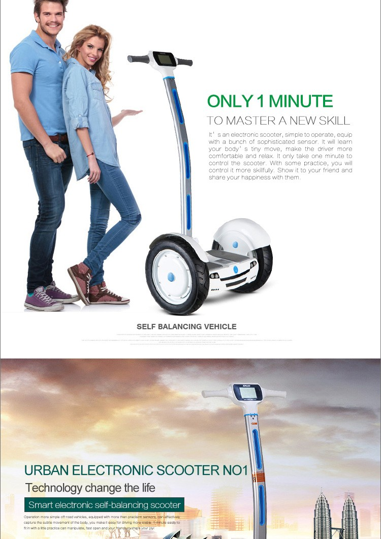 2016 Hottest sale 15inch 2 wheel self balancing scooter smart drifting scooter mini electric balance scooter