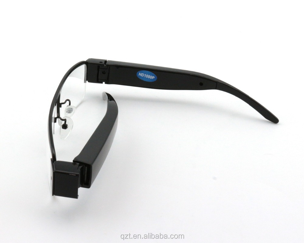 V13 FULL HD 1080P clear digital video record Glasses camera hidden spy camera eye glasses