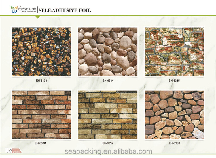 brick design vinyl 3D Wallpaper for home decoration wallcovering