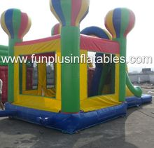 air balloon inflatable bouncer/slide/combo F3109