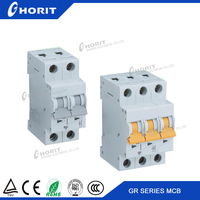 China supplier images of Miniature Circuit Breaker mini mcb 1p-4p L7-100
