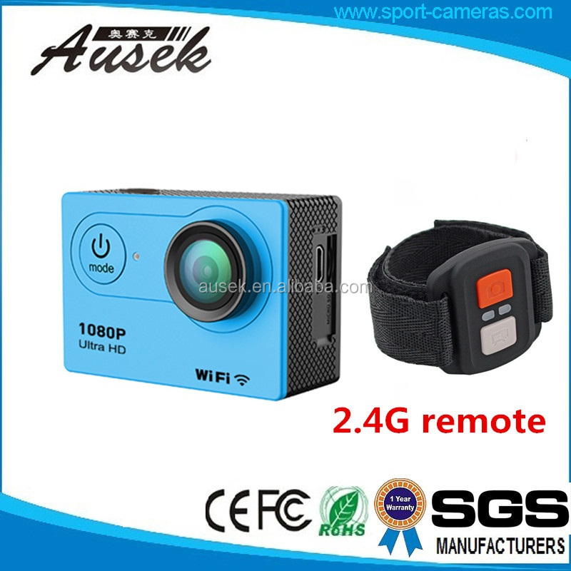 marketing gift items promotion waterproof action camera full hd with H9R half price