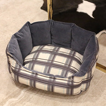 Best selling products customized warm modern luxury pet dog bed