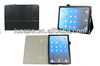 Folio Case for iPad Air with business card slots and one hand operation function Premium PU leather folio case for iPad 4/5/air