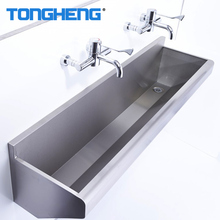 Wall Mounted Cleaning Furniture Stainless Steel Hospital Scrub Sink
