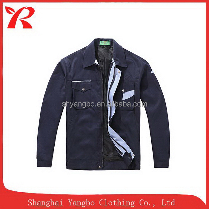 Printing logo china supplier manufacture top quality hi-viz workwear jacket suit