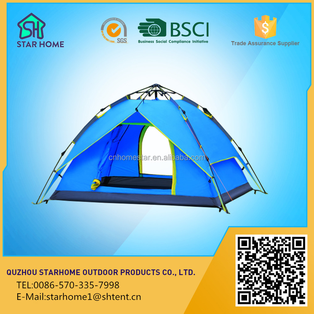 New breadfruit speed automatic open tent outdoor 3-4 person multiplayer automatic tent outdoor camping tent