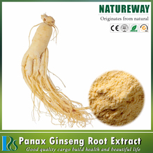 Factory Natural Top Quality Panax Ginseng Root Extract Powder / Organic Ginseng Extract
