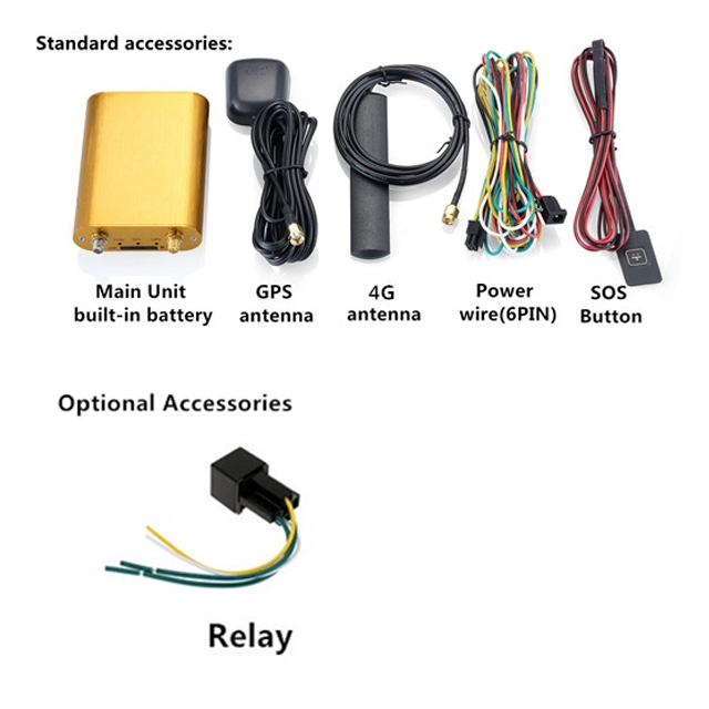 mini 4G Car gps tracker manufacturer cheap price Real time gps tracking MT600