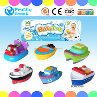 Vinyl Baby Bath Boat Squirting Bath Baby Baby Toys For Kids