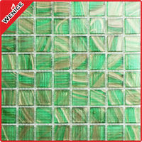 new ordinary hot melt glass mosaic for wall decoration