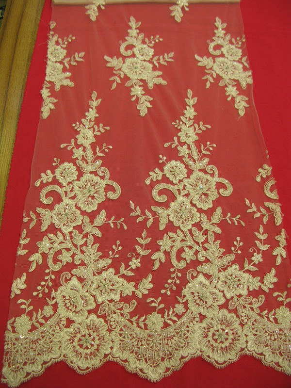 Wedding lace fabric dantel kumas/mesh embroidered lace embroidery fabric