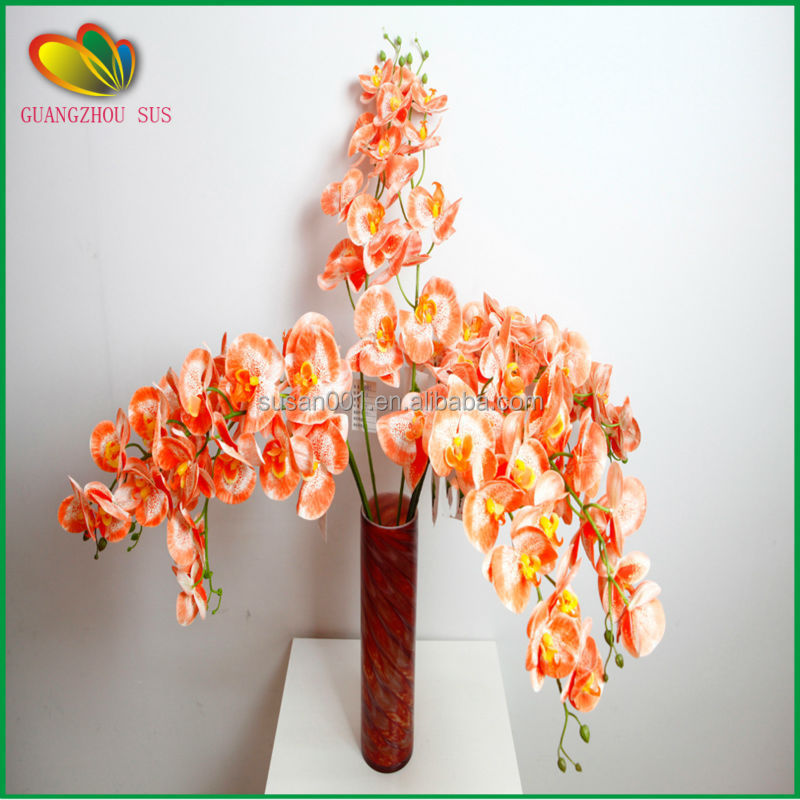 real touch flowers wholesale fake vanda orchid artificial orchid flowers arrangements plastic flowers for sale