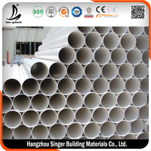 Best quality pvc drainage pipe 150mm, low price oval plastic pipe