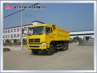 3 axles diesel engine dongfeng 10ton capacity of a dump truck