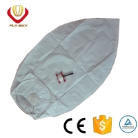 New style eco Toys fireworks flying sky lantern with the kite line for wedding decoration