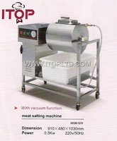 With vacuum function Meat salting machine
