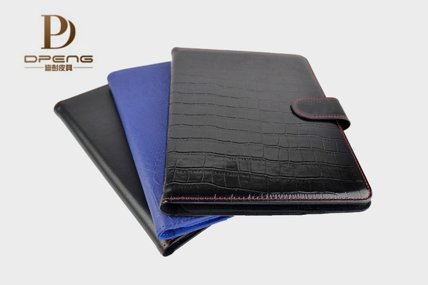 Wholesale concise flip genuine leather 7.85 inch tablet case for ipad air 2