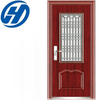 Main safety door design with grill door iron grill design