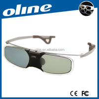 Smart collection 3d Glasses OLINE DLP link 3d shutter glasses RX-30 with high transmittance IR & RF combined 3D glasses