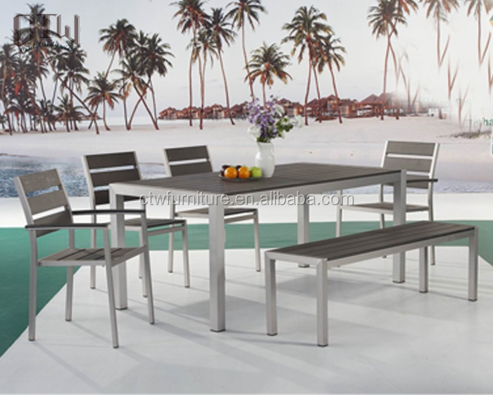 BZ-BR201 outdoor polywood dining chairs