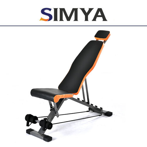 BEST Sit up bench sit up equipment abdominal machine body solid semi recumbent ab bench