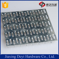 Hot Dip Galvanized Sheet 18GA Double Nail Plate Metal Wood Connection