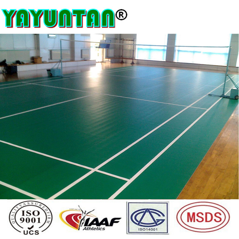 Plastic recyclable pvc flooring from china supplier