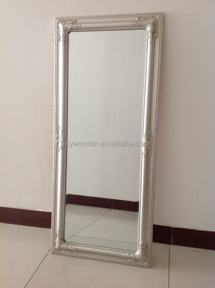 China wholesale bedroom mirror fashion wooden pier glass