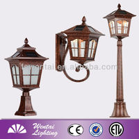 China modern 110v landscape LED garden outdoor solar light