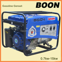 Top quality with 100% copper wire 6.5 kw gasoline generator made in china