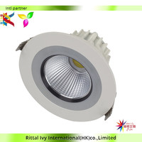Modern High Power Ultra Slim Dimmable Led Downlight 15W