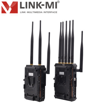 LINK-MI LM-PRO800 Plus 800m/2625ft HDMI/SDI Wireless Video Link with intercom and Tally Transmitter and Receiver