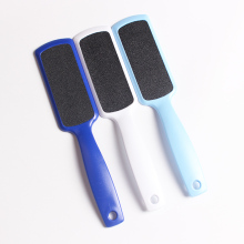Sandpaper plastic handle foot callus remover