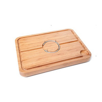 Wholesale Bamboo Carving Board Spiked Meat Kitchen tools Chopping Blocks with nice design
