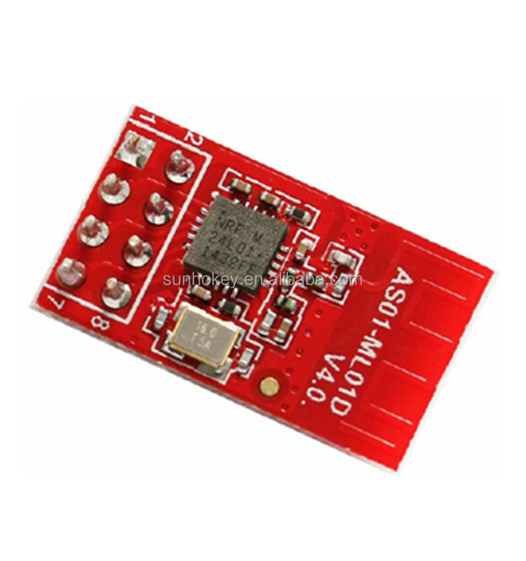 Wireless transceiver/digital transmission RF module nRF24L01 + 2.4GHz, 1mW, industrial grade wireless module