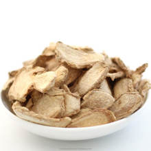 Natural Dried Ginger slices use as spice or herb