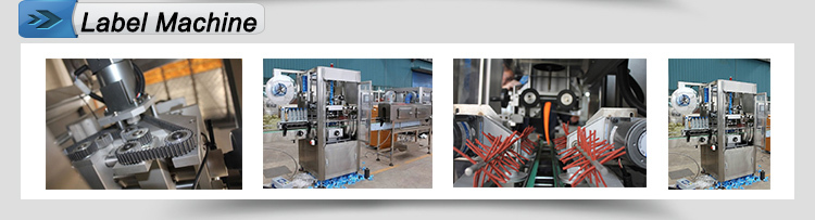 Full automatic bottle wrapping and shrink label machine
