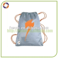 Wholesale Inexpensive Products cotton gym sack drawstring bag
